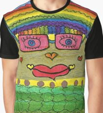 Rose-Colored Glasses Graphic T-Shirt