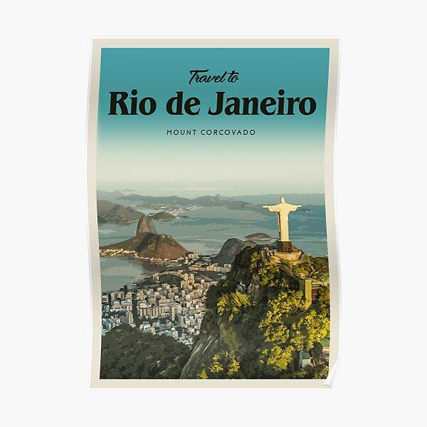 Visit Rio Poster