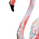 Flamingo No.1  by christinahewson