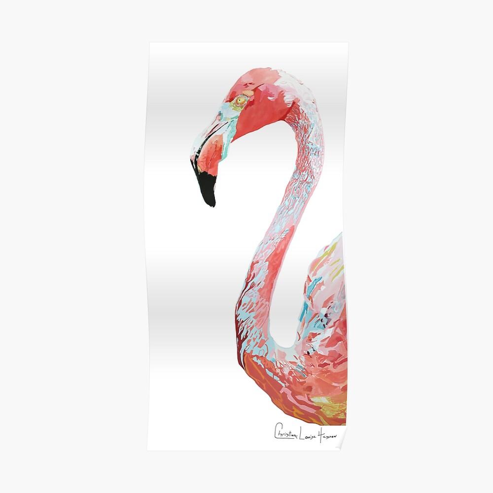 Flamingo No.1  Poster
