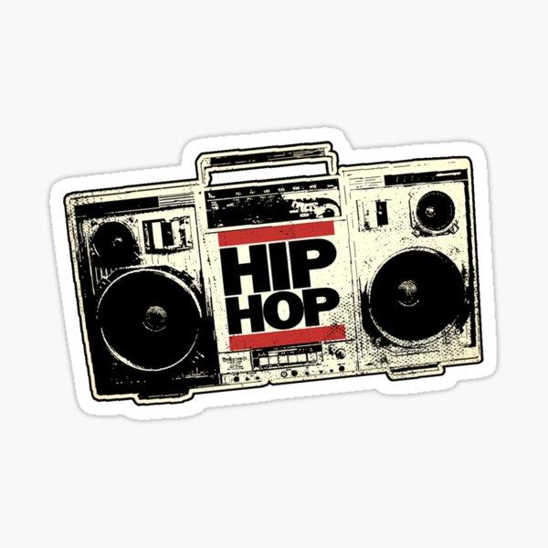 HIP HOP BOOMBOX Sticker