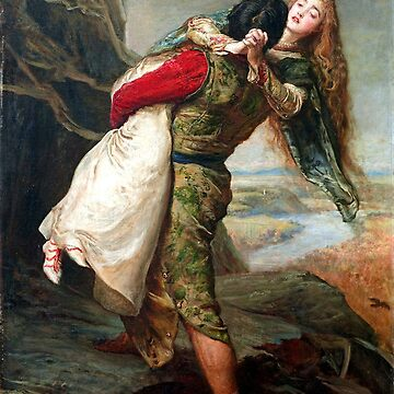 The Crown of Love - John Everett Millais  by forgottenbeauty