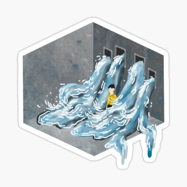 fake love bts water Sticker