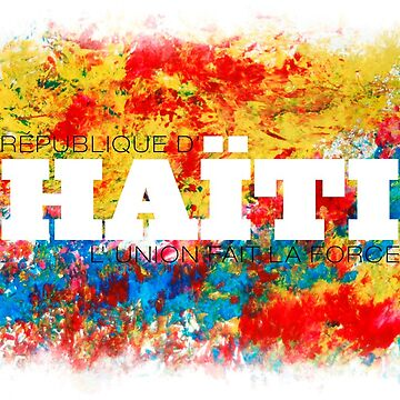 Republique d'Haiti - L'union fait la force by Skullz23