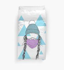 Snow femme Duvet Cover