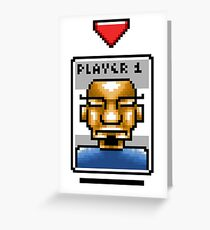 Player One Greeting Card