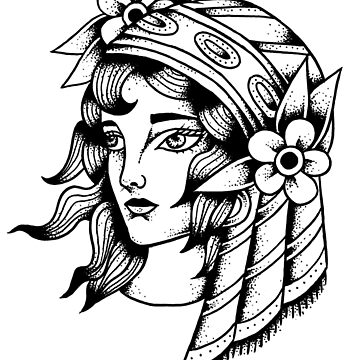 Gypsy girl  by ivyklomp