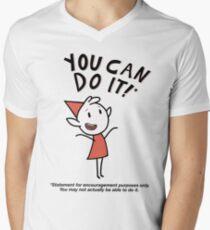 Alfur - For Encouragement Purposes Only Men's V-Neck T-Shirt