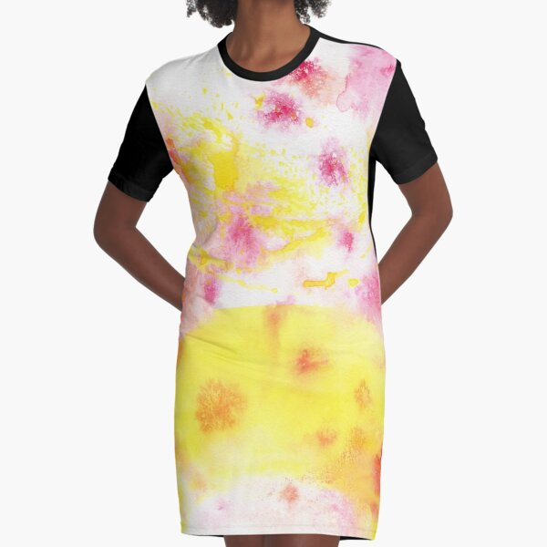 In Bloom Graphic T-Shirt Dress