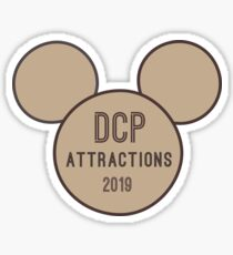 DCP Attractions 2019 Sticker