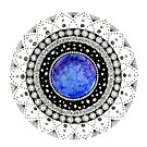 Magical Mandala by REBECCA LEAH DESIGNS