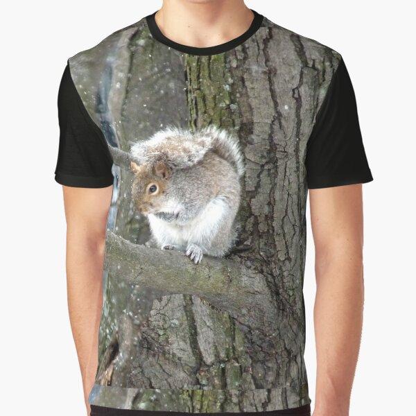 Écureuil T-shirt graphique