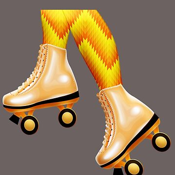 Orange Peel Skates by Slinky-Reebs
