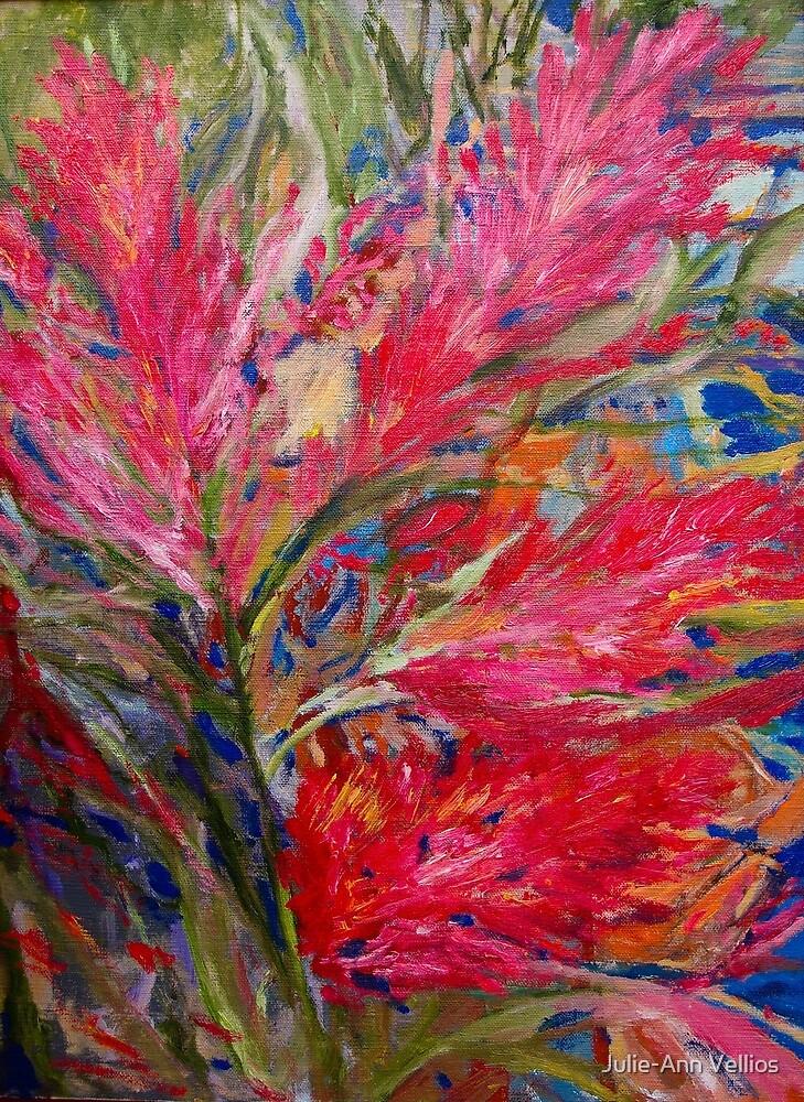 Old Floral by Julie-Ann Vellios