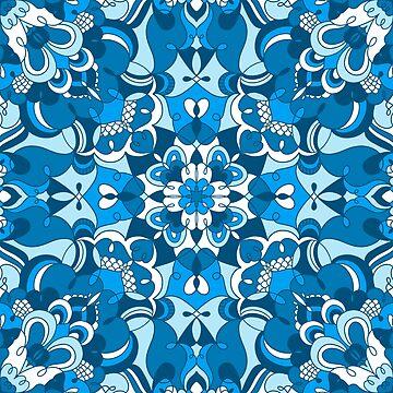 Blue mandala by stolenpencil