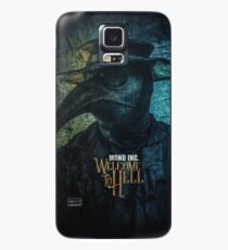 MONO INC. Welcome To Hell (hoch) Case/Skin for Samsung Galaxy