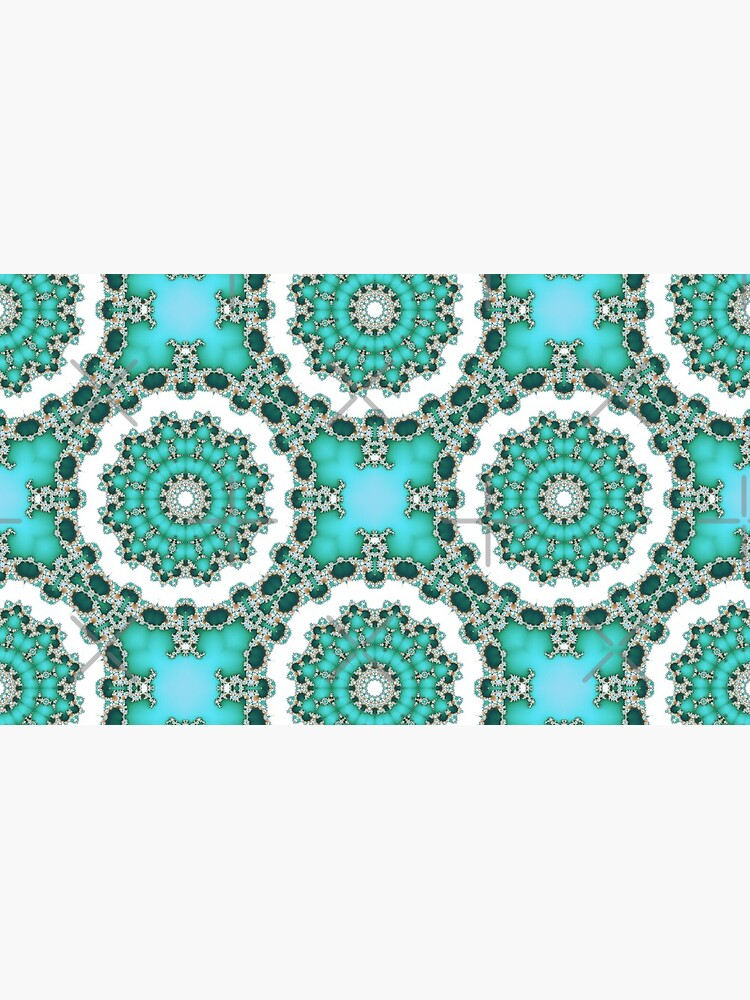 Turquoise Mandalas by nadyanadya