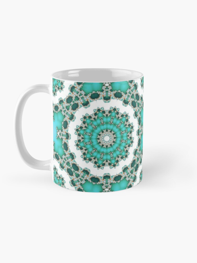 Alternate view of Turquoise Mandalas Mug