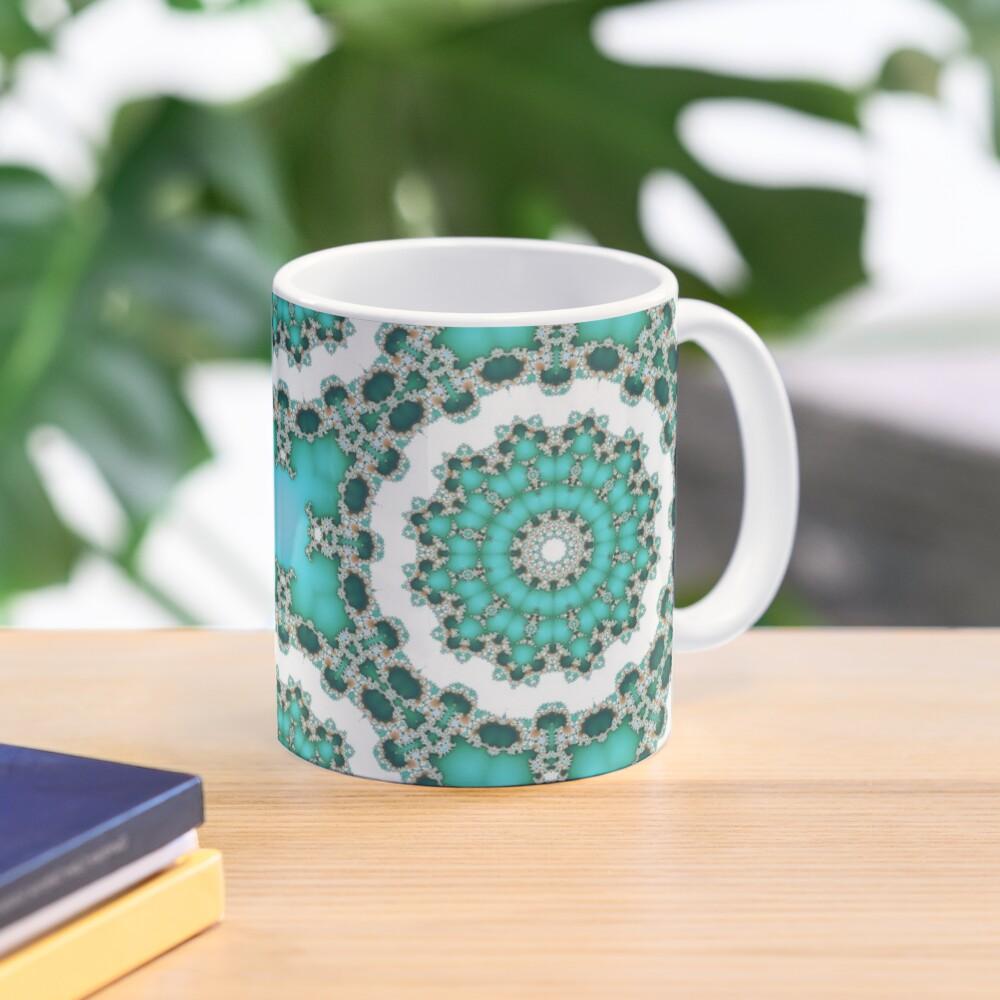Turquoise Mandalas Mug