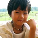 Smiling girl by Joozu