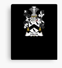 Collin Coat of Arms - Family Crest Shirt Canvas Print
