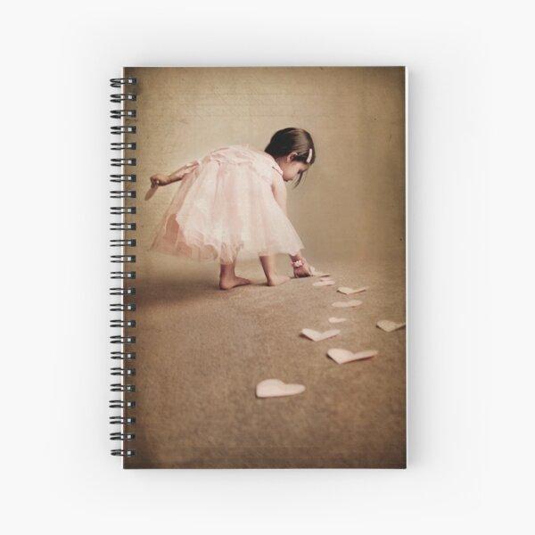 follow the love trail... Spiral Notebook