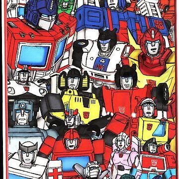 autobots by CraigMatthews
