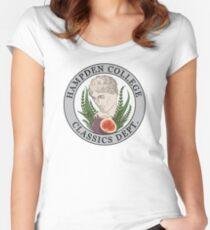 HAMPDEN COLLEGE CLASSICS DEPT. Fitted Scoop T-Shirt