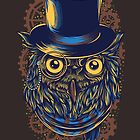 Steampunk Owl by Skullz23