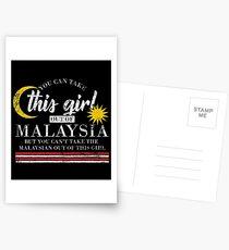 Malaysia nationality Postcards