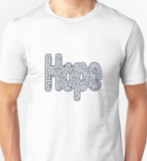 """Hope floats 1"" Unisex T-Shirt"
