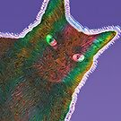Rainbow & Cat by bunhuggerdesign
