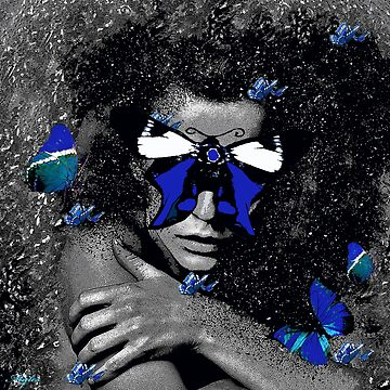 WOMAN BUTTERFLY REBORN RENEWED AND UNDEFEATED  by Overthetopsm