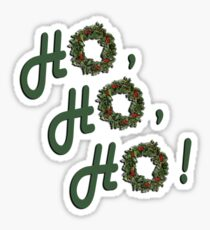 Ho, Ho, Ho! Sticker