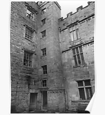 Chillingham's Courtyard Poster