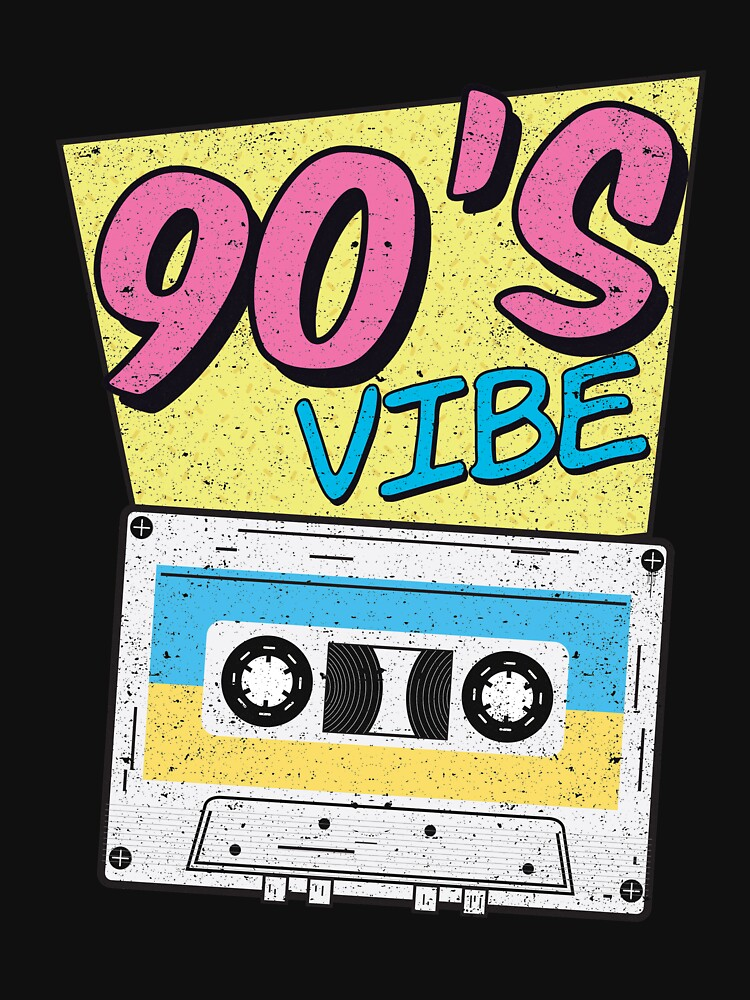 90s Vibe Retro Costume Party Outfit Colorful Music by kieranight