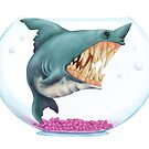 Sharky by Ashthomsonart