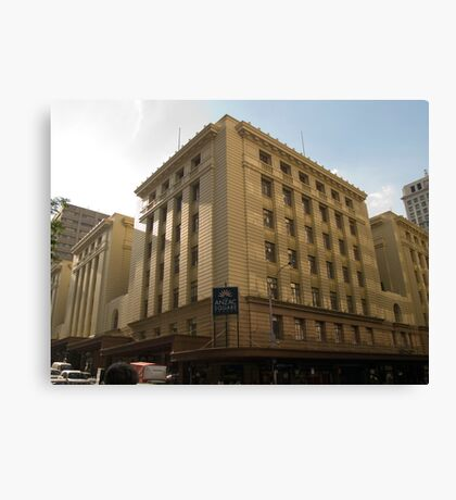 Anzac Square Building - Edward St.  Canvas Print