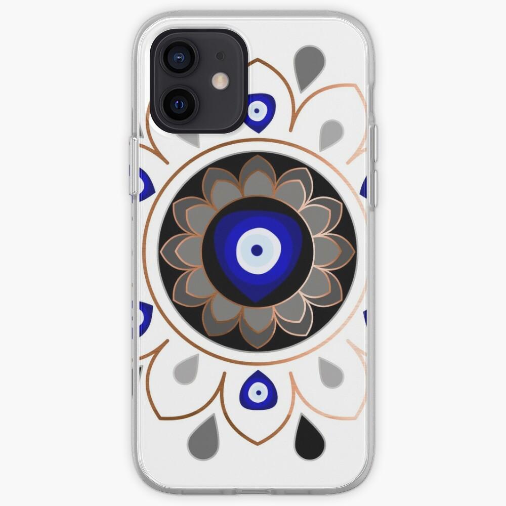Copper Evil Eye Mandala iPhone Case & Cover