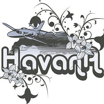 Havana Cuba by T-ShirtsGifts