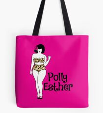 Illustrated Logo Tote Bag