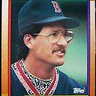 437 - Greg Harris by Foob's Baseball Cards