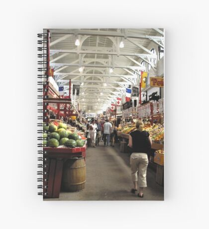 Fruit Market Spiral Notebook