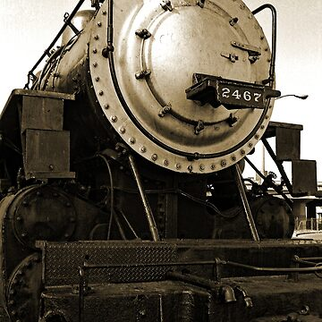 #2467 Steam Locomotive by woodeye518