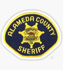Alameda County Sheriff Sticker