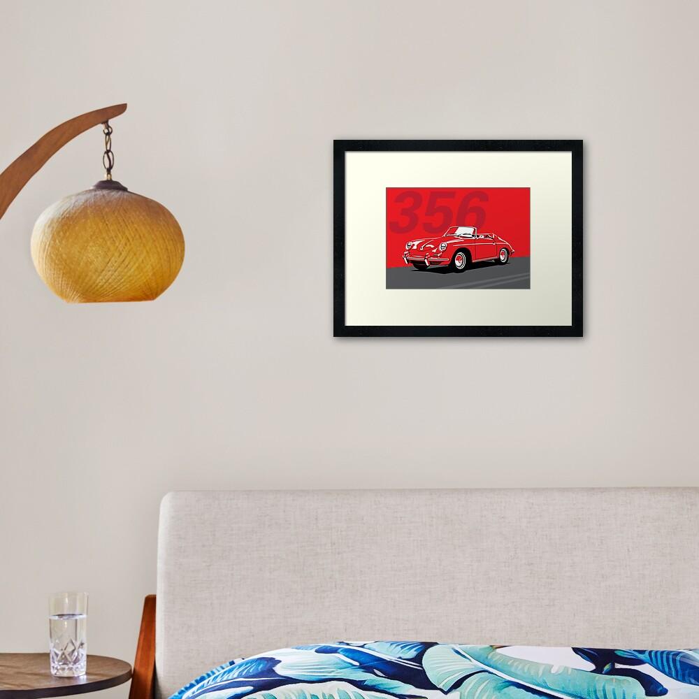 Porsche 356 Framed Art Print