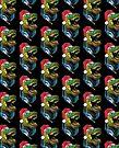 Merry T RexMas Tyrannosaurus Rex Christmas Dinosaur by MudgeStudios