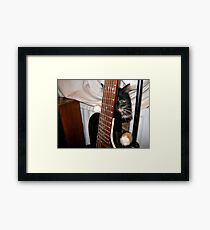 I told you it`s mine!!! Framed Print