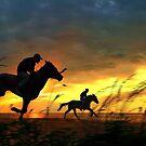 Evening Run by Igor Zenin