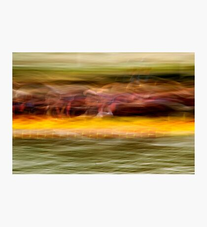 Dragon Boat Race Photographic Print